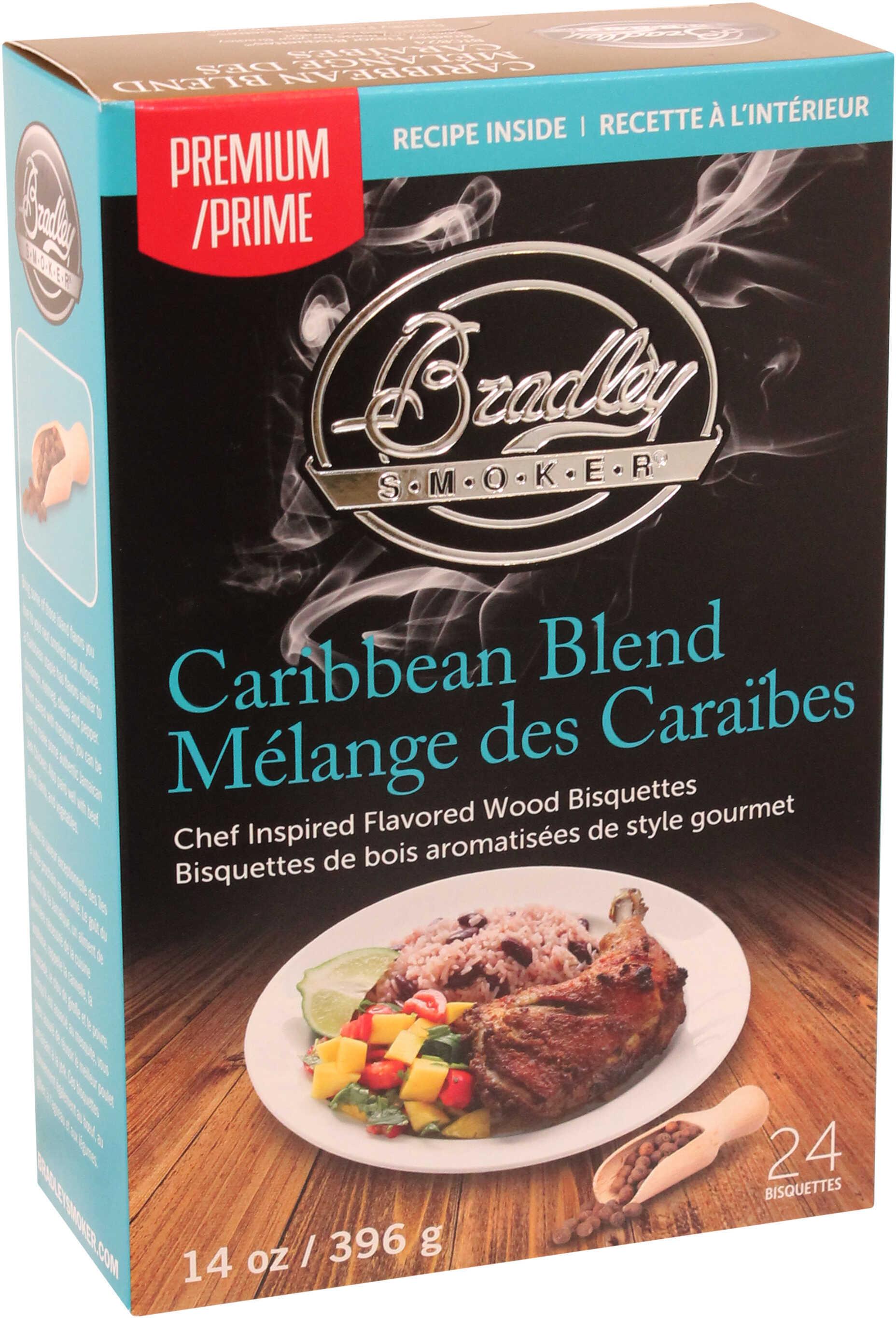 Bradley Technologies Smoker Bisquettes Caribbean Blend, 24 Pack Md: BTCB24