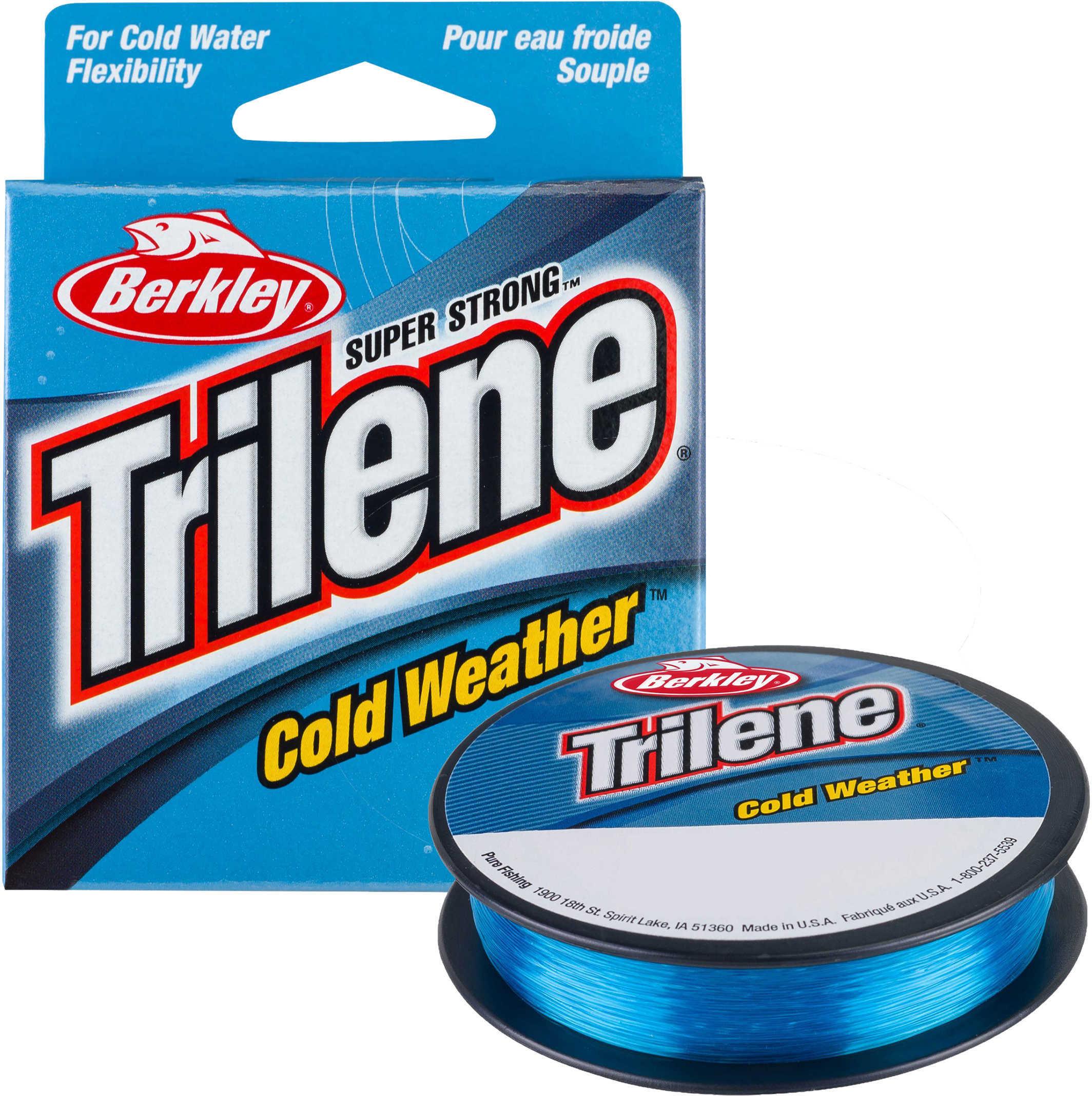 Berkley Trilene Cold Weather, 110 Yards, Electric Blue Md: 1004399