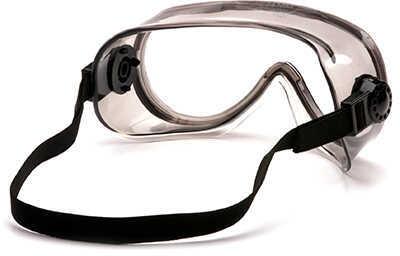 Pyramex Safety Products Goggles Clear Anti-Fog Top Shelf Chemical Splash Md: G304T