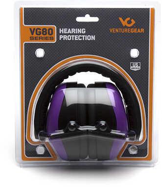 Pyramex Safety Products VG80 Series Ermuffs NRR 26dB, Purple Md: VGPM8065C