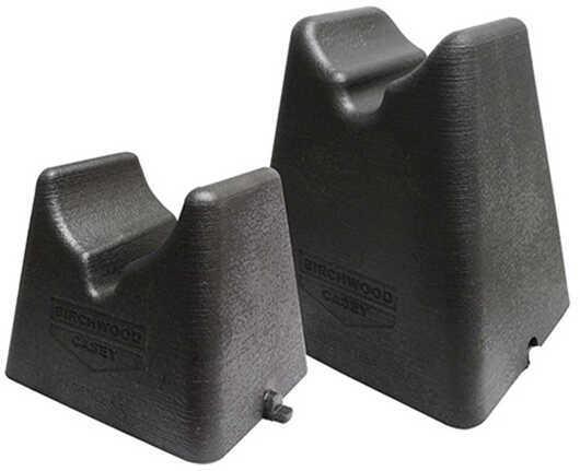 Birchwood Casey Nest Rest 2pc Shooting Rest Rubber Black 1 Set 48202