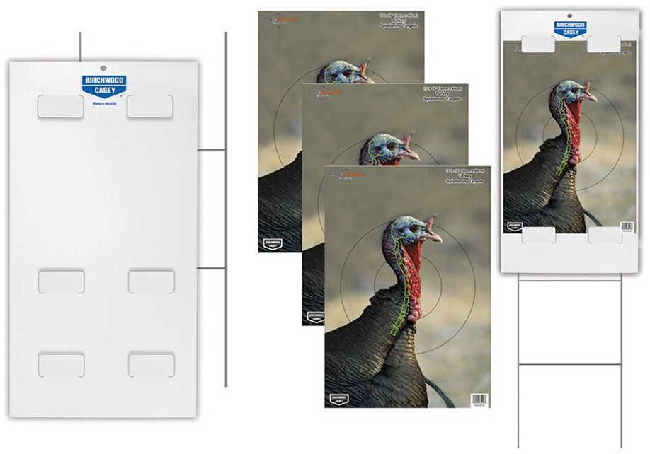"""B/C Target PREGAME 12""""X18"""" Tab-Lock Turkey Target Kit (3)"""