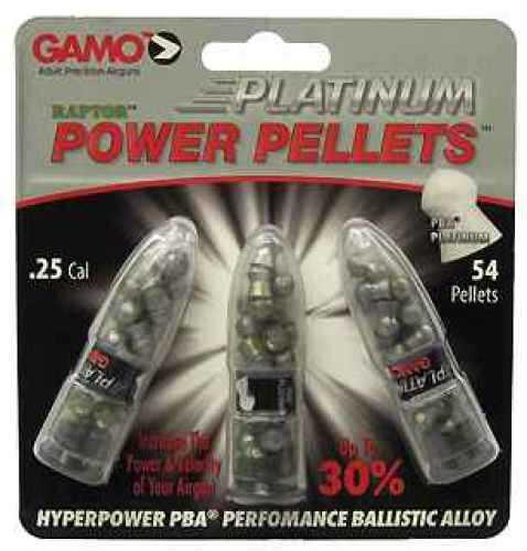 Gamo PBA Platinum Pellets .25/Blister Pack Md: 632265654