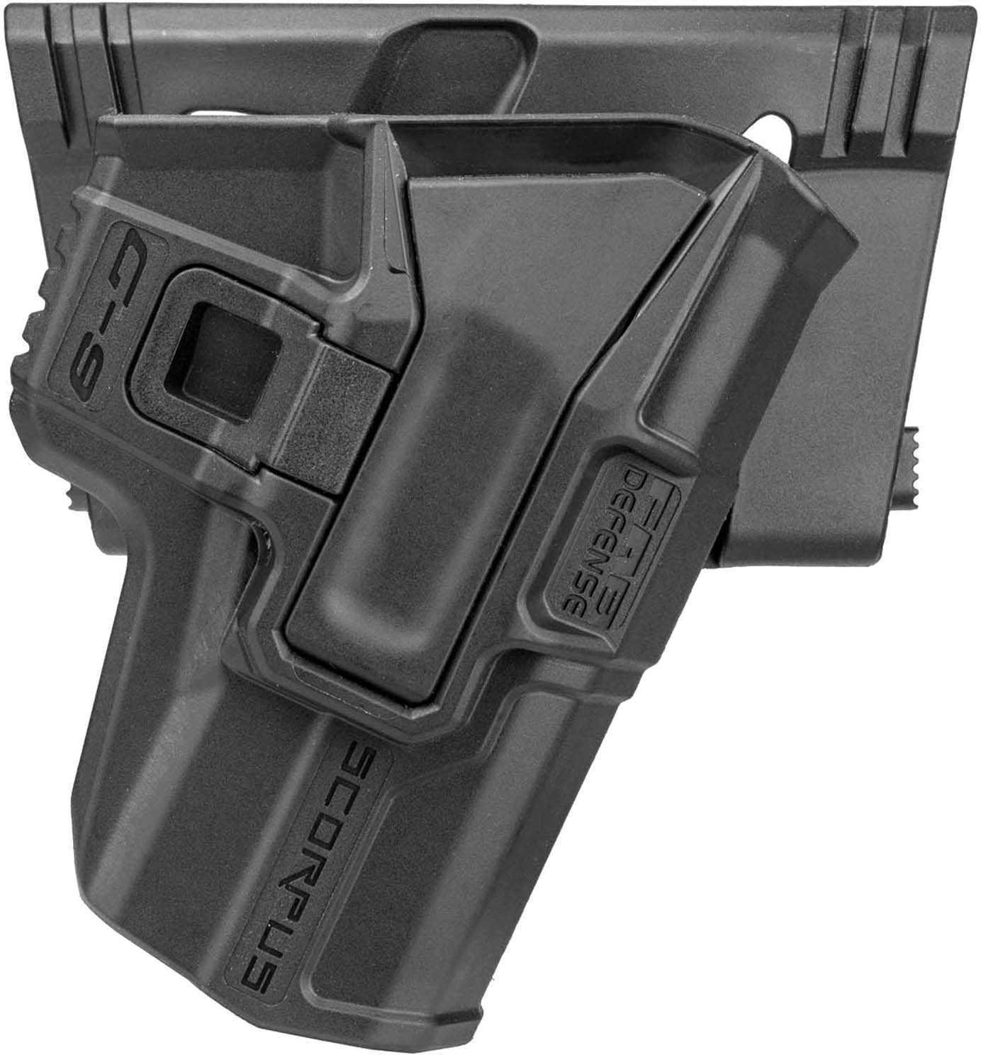 Mako Group Model M24 Belt Holster Smith & Wesson M&P 9/.40, Ambidextrous, Black Md: M24 Belt M&P-B