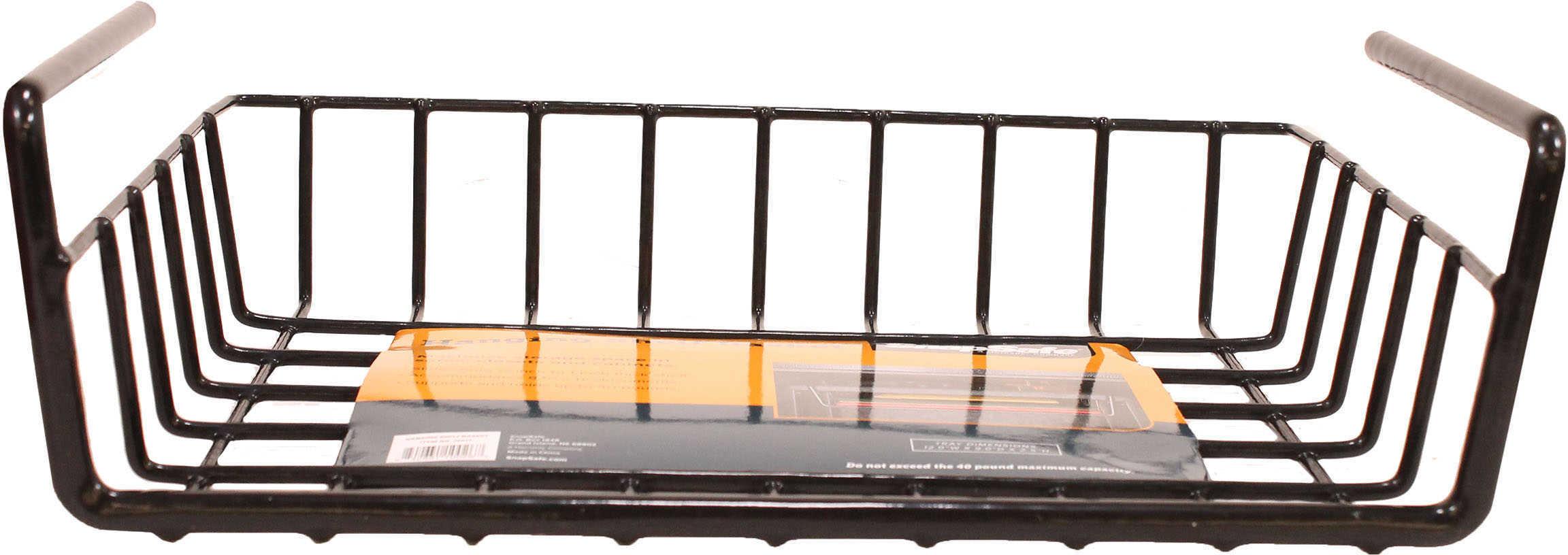 SnapSafe Hanging Shelf Basket, Black Md: 76012