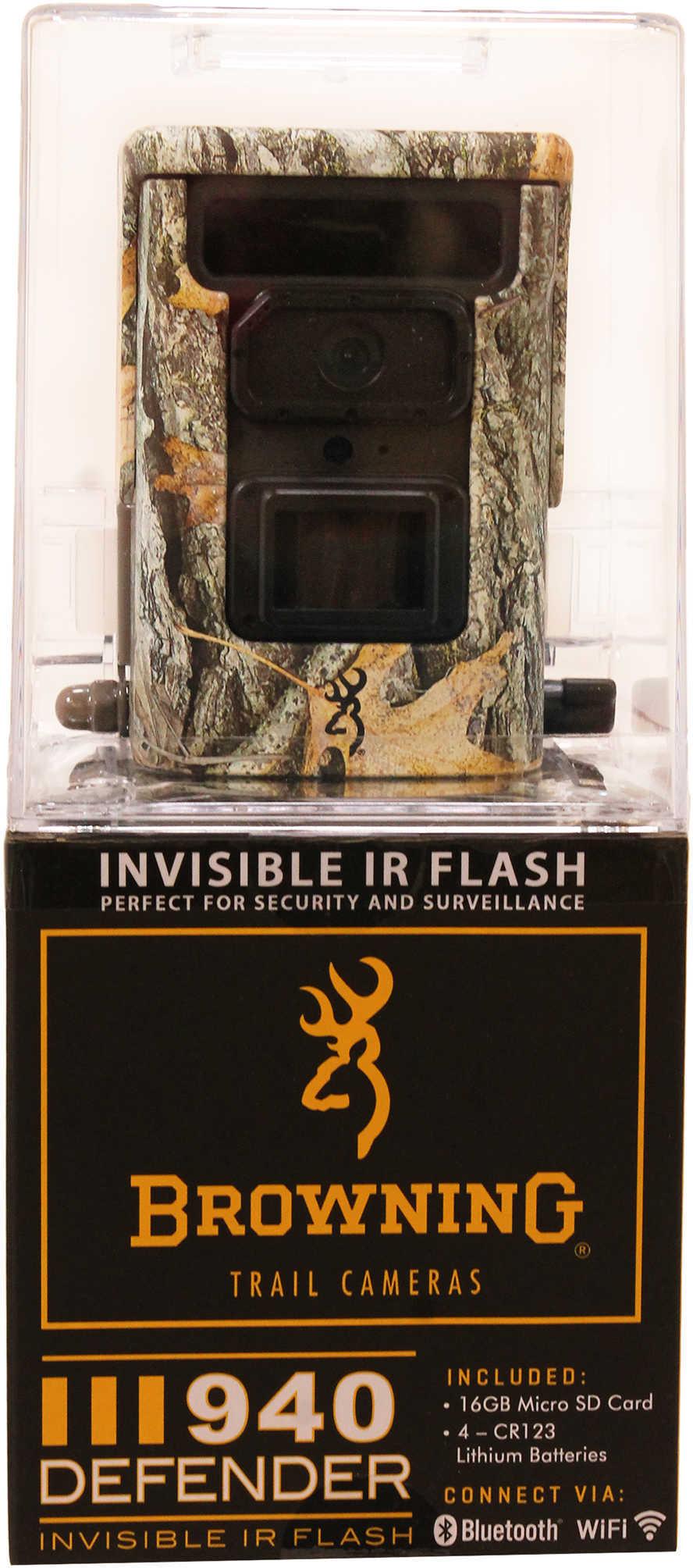 Browning Trail Cameras Trail Camera Defender 940, 20MP Md: BTC 10D