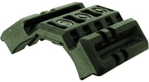 Mako Group Dual Picatinny Attachment M16/AR15/M4 Handguard, Olive Drab Green Md: DPR164-OD