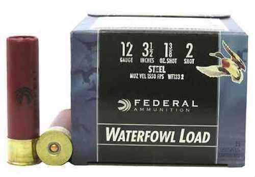 "Federal Cartridge 12 Gauge Speed-Shok 1550 Fps , 1 3/8"" #2, (Per 25) Md: WF1332"