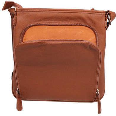 NcStar Messenger Crossbody Bag Small, Brown