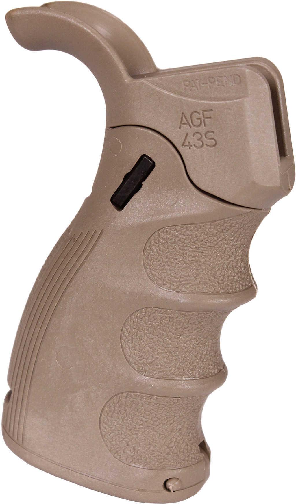 Mako Group Ergonomic Folding Pistol Grip M16/M4/AR-15, Flat Dark Earth Md: AGF-43S-FDE