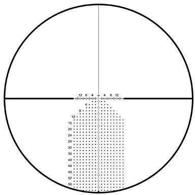 Leupold VX-3i LRP Riflescope 4.5-14x50mm, 30mm Main Tube, Impact-60 MOA, Side Focus First Focal, Matte Black