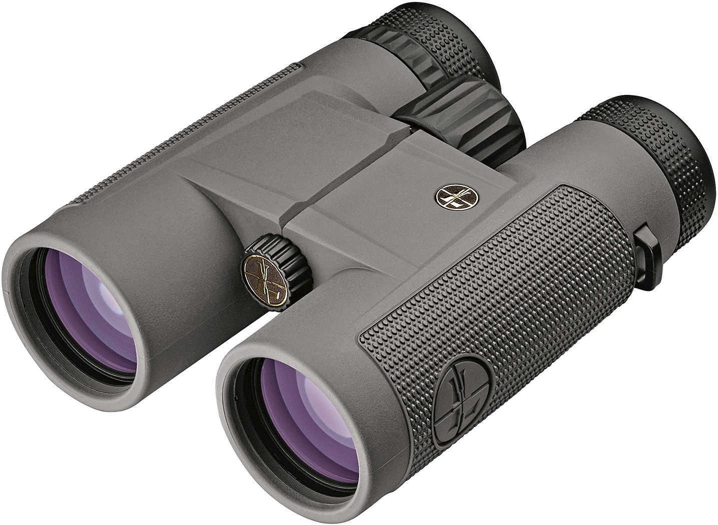 Leupold BX-1 McKenzie Binocular, 10x42mm, Roof Prism, Shadow Gray