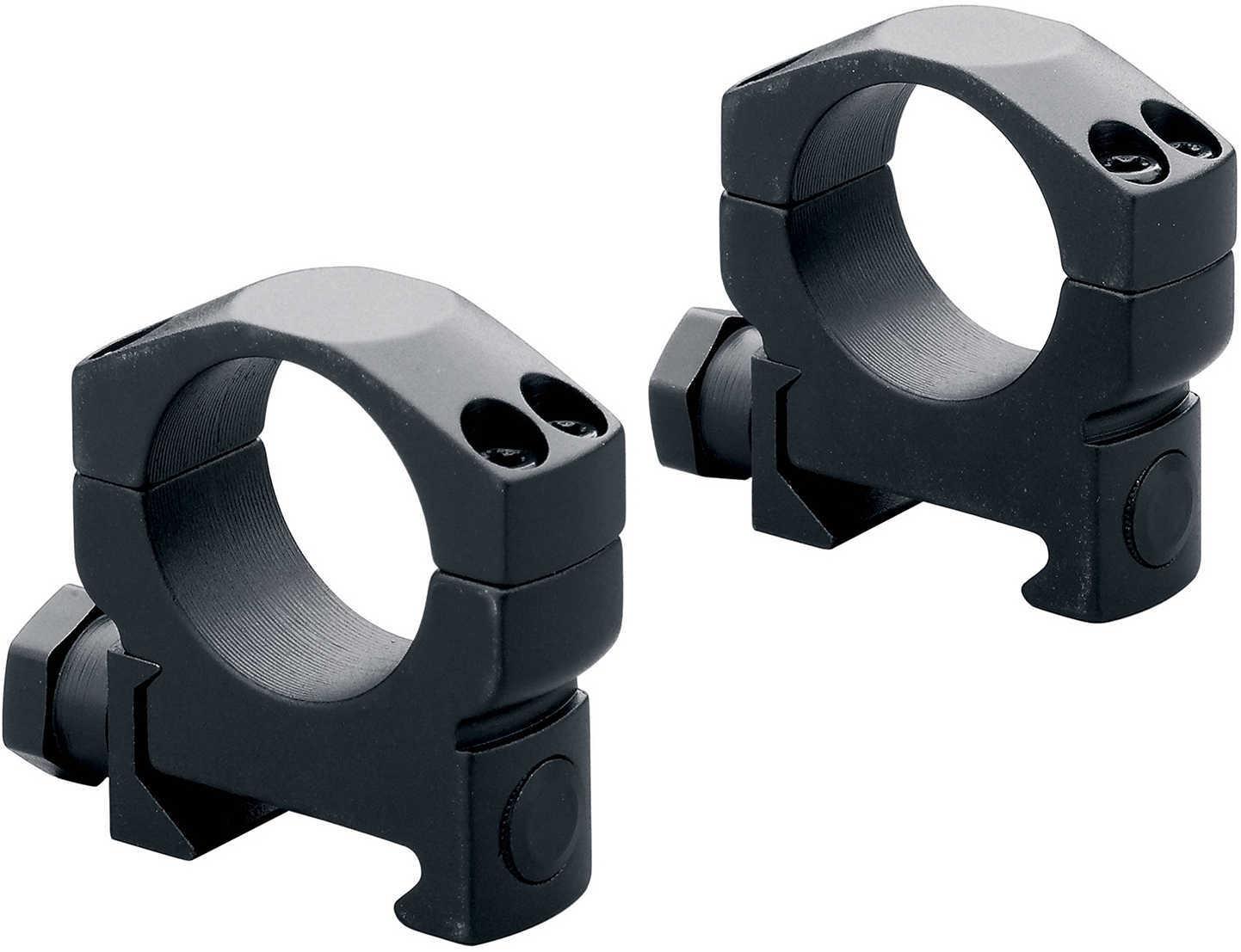 Leupold Mark 4 Picatinny-Style Rings, 35mm Super High, Matte Black