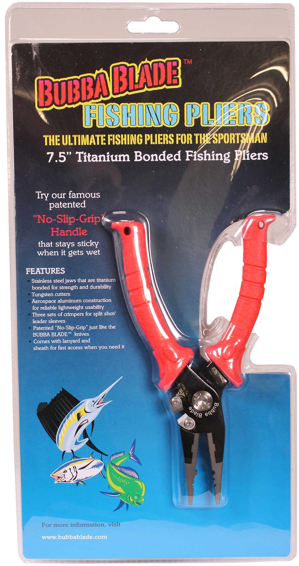 "BUBBA 7.5"" FISHING PLIERS"