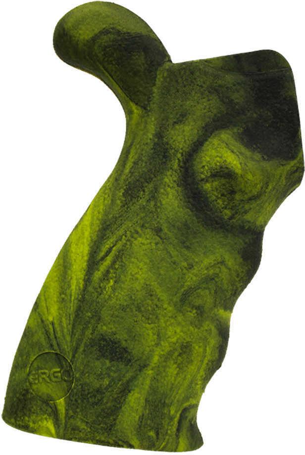 Ergo 2 AR15/AR10/M16 Grip Kit Ambidextrous, Tracker Camouflage