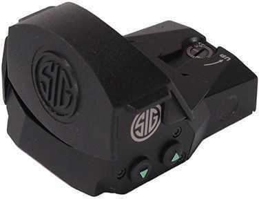 Sig Sauer Romeo1 Mini Reflex Sight 1x30mm, 6 MOA Red Dot, 1.0 MOA Adjustable, Black