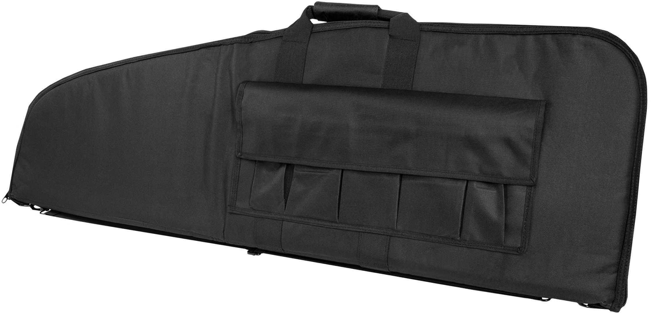 "NCSTAR Scoped Rifle Case Rifle Case Black Nylon 52"" Tall Model CVS2907-52"