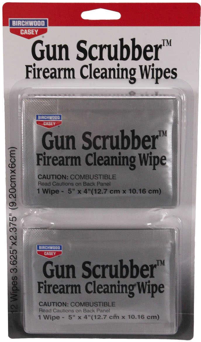 Birchwood Casey Gun Scrubber Wipes, package of 12