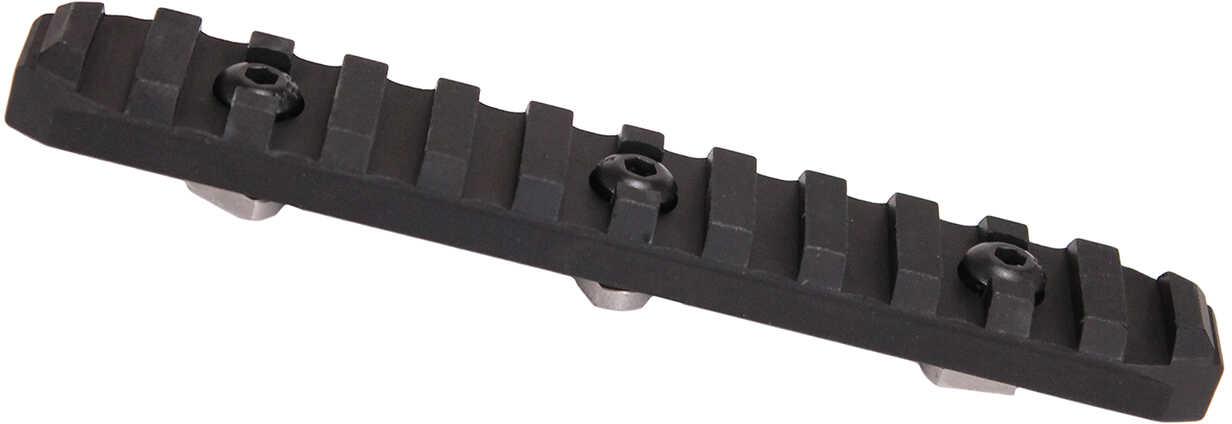 Odin M-LOK 12 Slot Accessory Rail Black Aluminum