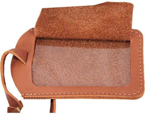 Peregrine Wild Hare Leather Luggage Tag, Dusk