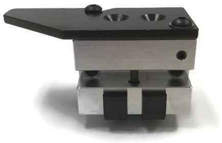 Bullet Mold 2 Cavity Aluminum .452 caliber Gas Check 228gr bullet with a Semiwadcutter profile type. A light Semi-wadcut