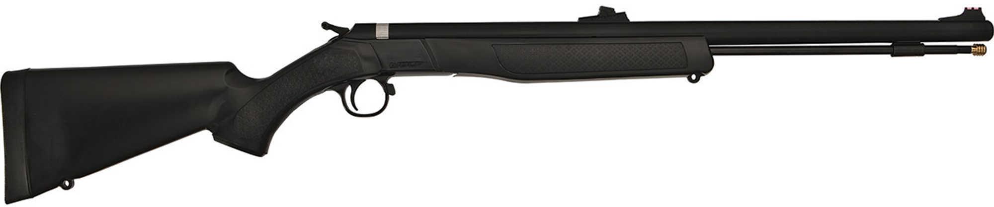 """CVA Wolf .50 Caliber Muzzleloader 24"""" Barrel, Blued"""