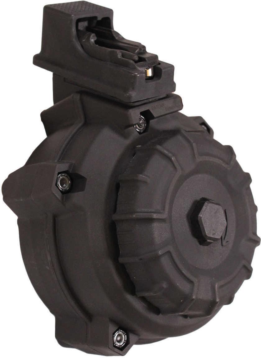ProMag AK-47 7.62x39mm 50 Round Drum, Black