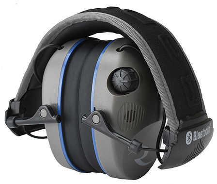 Radians R3700 R-3700 Bluetooth Electronic Earmuff with Quad Microphones 24 dB Black/Gray
