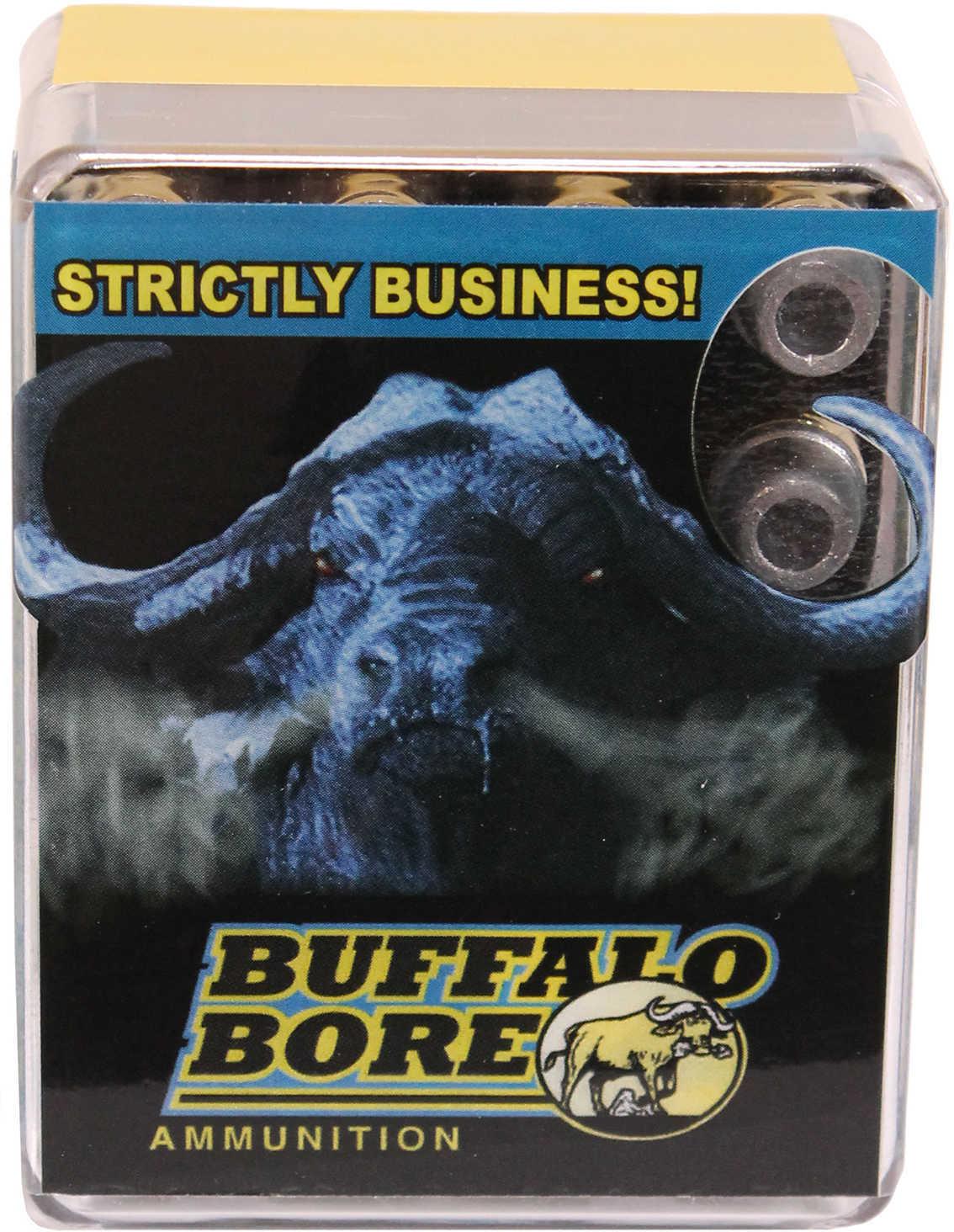 Buffalo Bore Ammunition .44-40 WCF, 185 Grains, Lead Hollow Point, Per 20