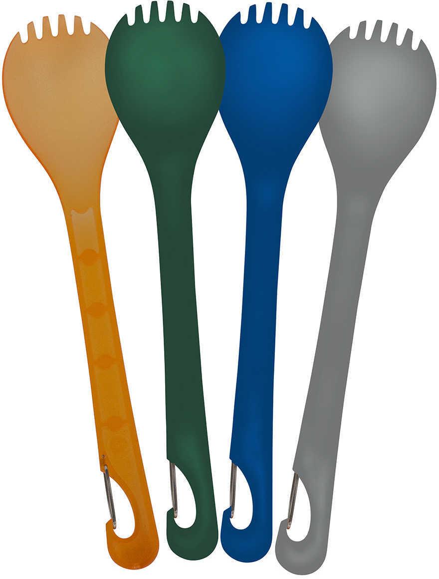 UST KLIPP SPORK 4-Pack Assorted Colors BPA Free