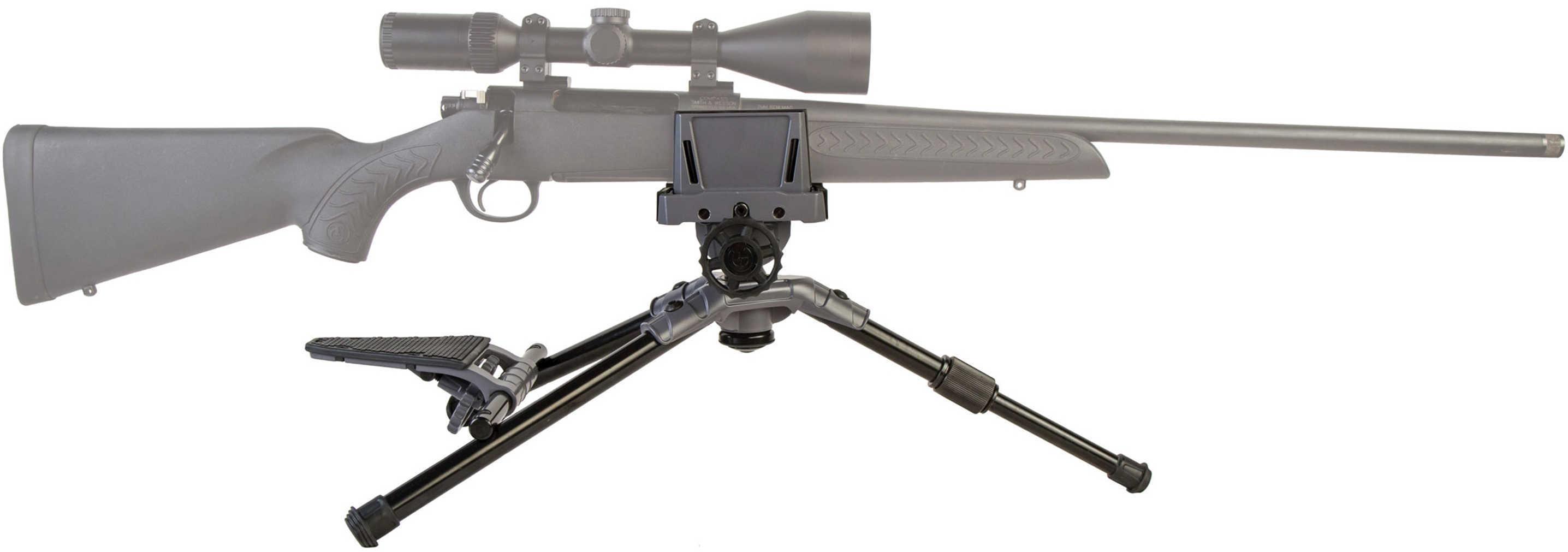 "Caldwell 821400 Precision Turret Shooting Rest Aluminum Black 22.4"" Long"