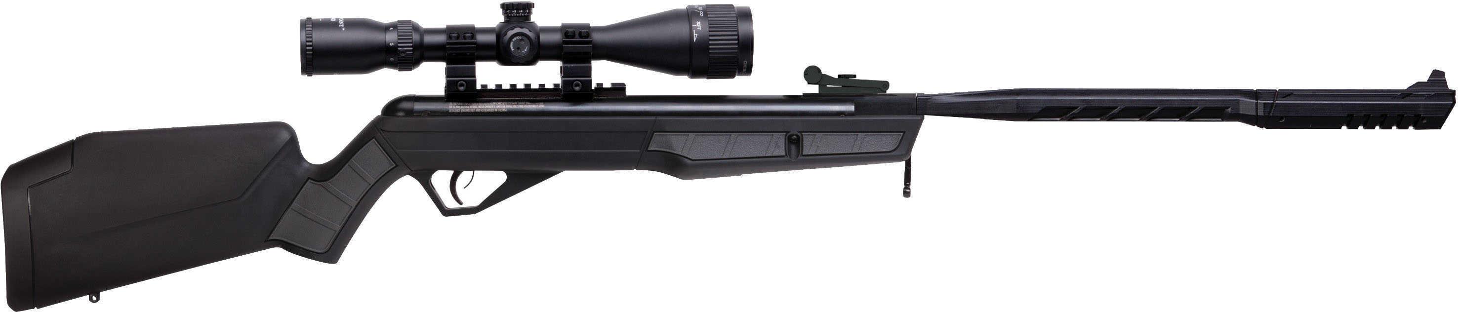 Benjamin BVH17TPSSSX Vaporizer Air Rifle Nitrogen Piston 177 Pellet Black Black Fixed Stock 3-9X40mm Scope