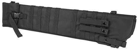 "NCSTAR Shotgun Scabbard Black Nylon 29"" Length Six Metal D-Ring locations Includes Padded Shoulder Sling CVSCB2917B"