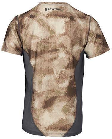 Browning Hell's Canyon Speed Plexus-FM Short Sleeve Mesh Shirt ATACS Arid/Urban, X-Large