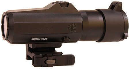 Sig Sauer Juliet6 Magnifier, 6x24mm Powercam Quick-Release Mount with Spacers, Black