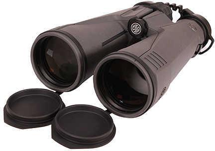 Sig Sauer Zulu9 Binoculars 15X56mm, HDX Lens. Close Bridge, Graphite