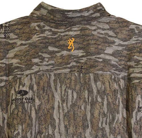 Browning Wasatch-CB Long Sleeve Shirt Mossy Oak Original Bottomlands, Medium