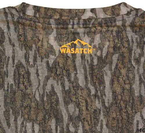 Browning Wasatch-CB Long Sleeve T-Shirt Mossy Oak Original Bottomlands, X-Large