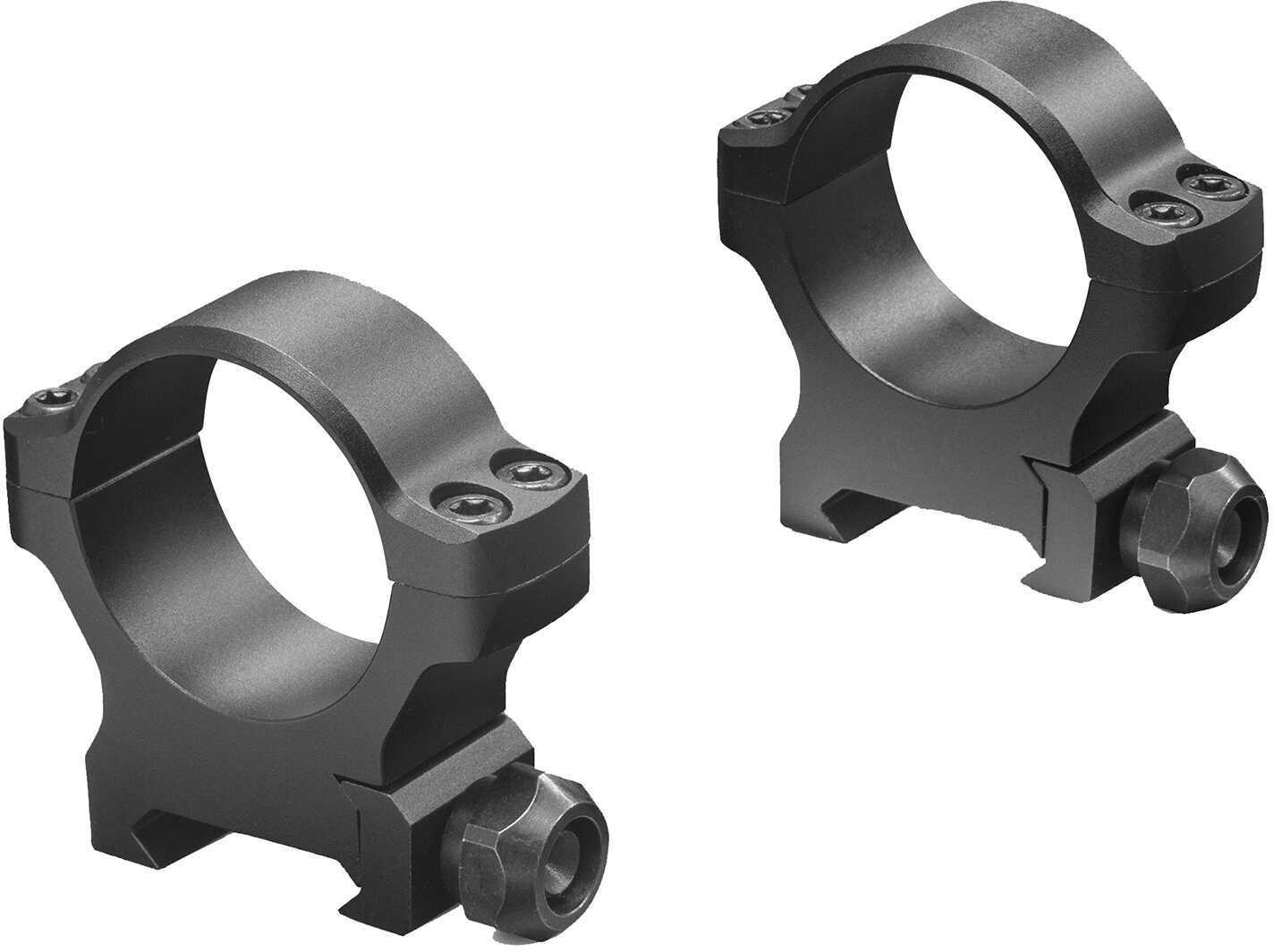 Leupold Backcountry Cross-Slot Weaver-Style Rings 30mm Diameter, Medium Height, Matte Black