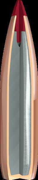 "Hornady .22 Caliber (0.224"" Diameter) Bullets ELKD Match, 88 Graains, Polymer Tip Boat Tail, Per 100"
