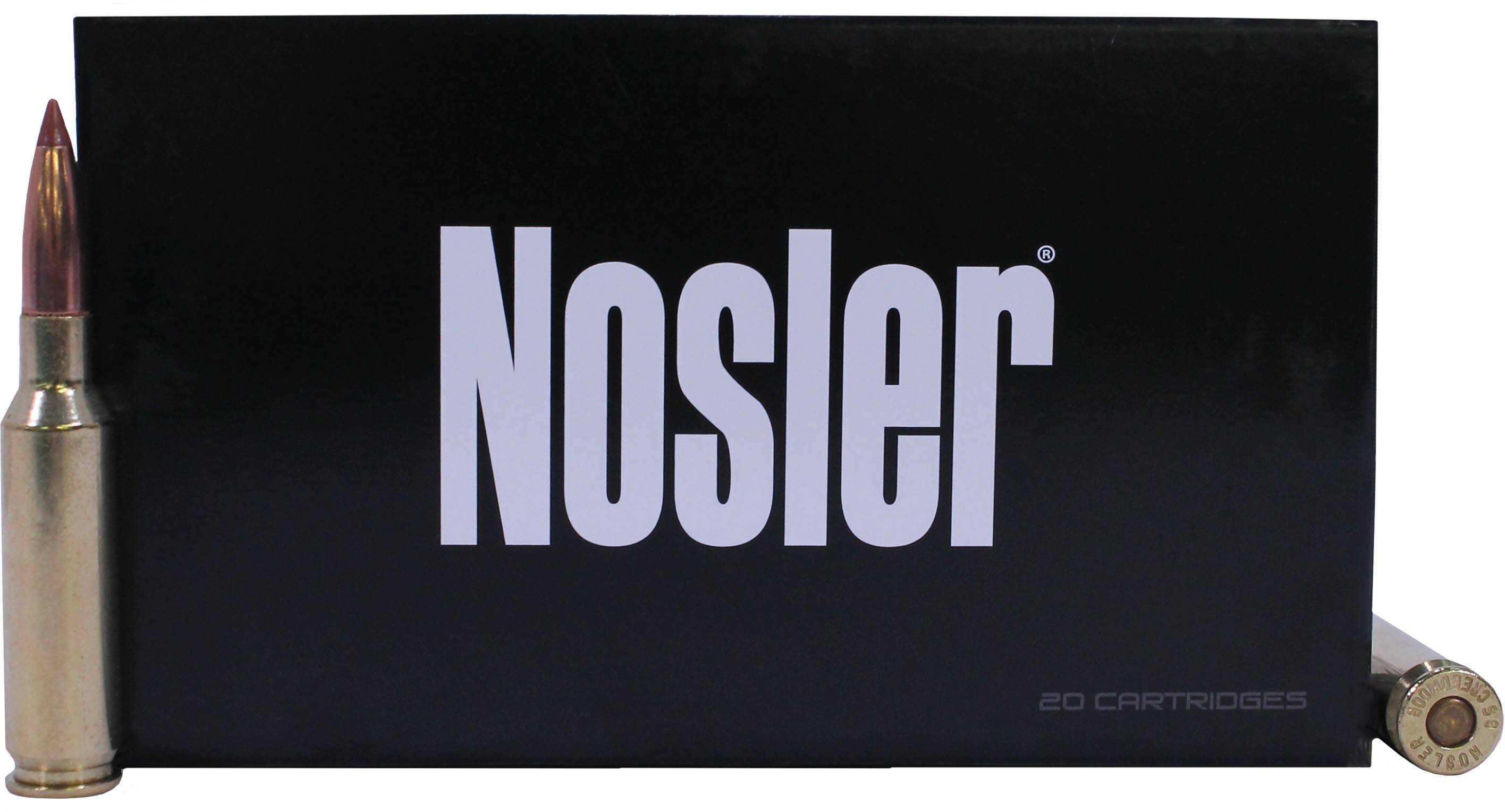 Nosler 6.5 Creedmoor Ballistic Tip 140 Grain Ammunition, 20 Rounds Per Box Md: 40064