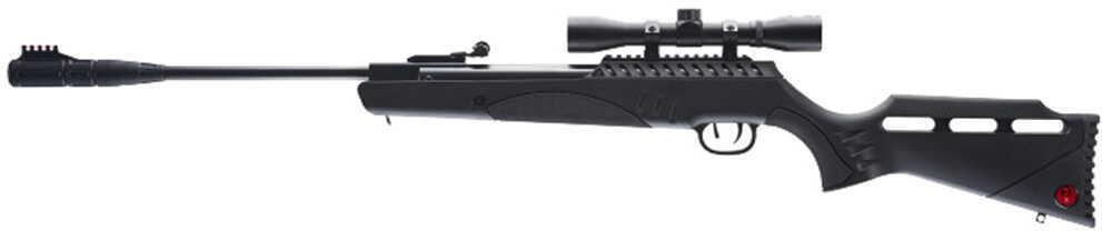 RWS/Umarex Targis Max Air Rifle .177 Pellet 1050 Feet Per Second Black Finish w/3-9X32 Scope Nucleus Rail Silencair Non-