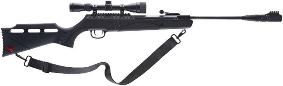 RWS/Umarex Targis Hunter Max Air Rifle .22 Pellet 800 Feet Per Second Black w/3-9X32 Scope Nucleus Rail Single Shot Sile