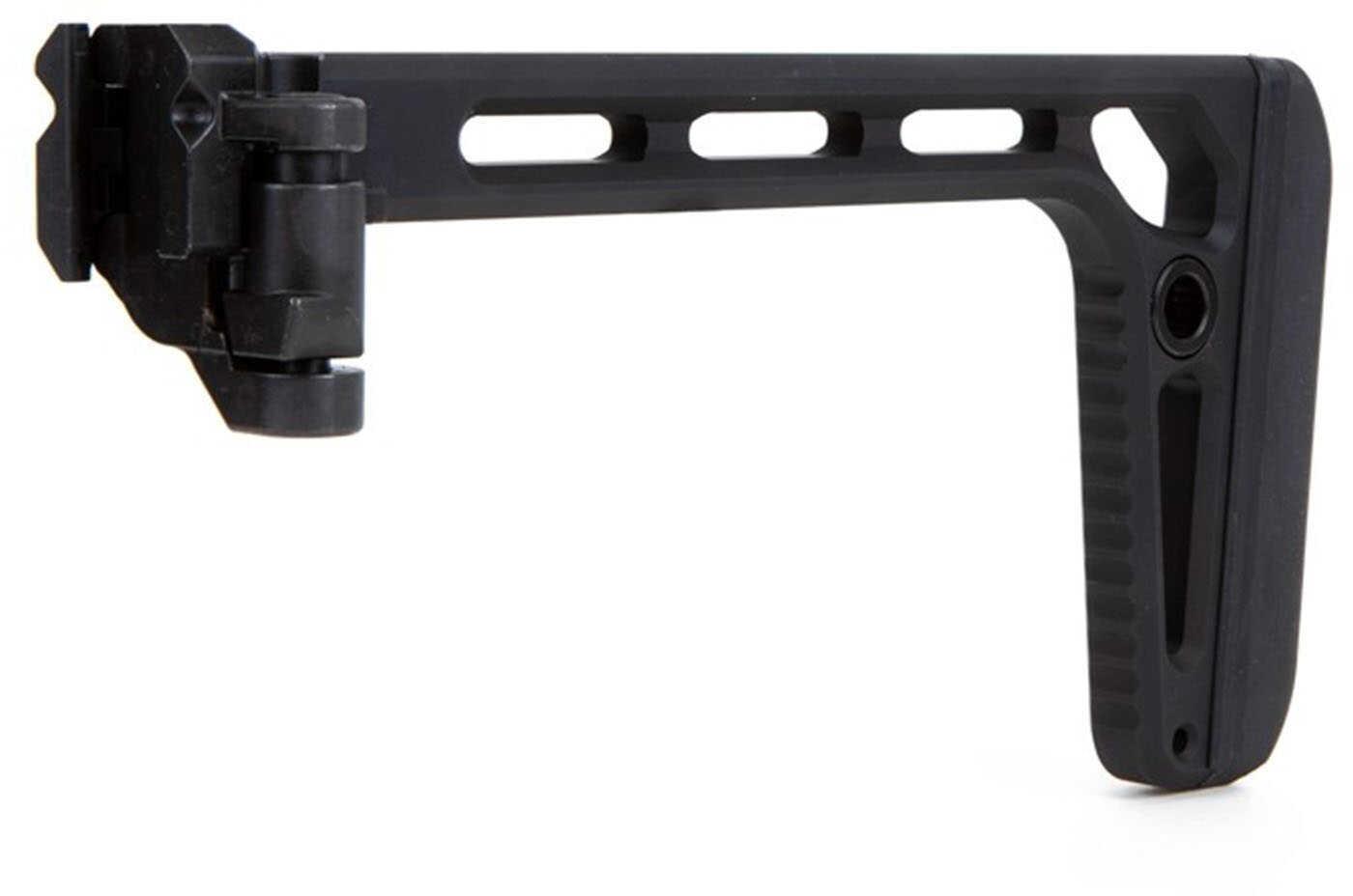 Sig Sauer STOCKXFOLDPLUSBLK MCX/MPX Minimalist Plus Folding Stock AR Platform Rifle Polymer Black
