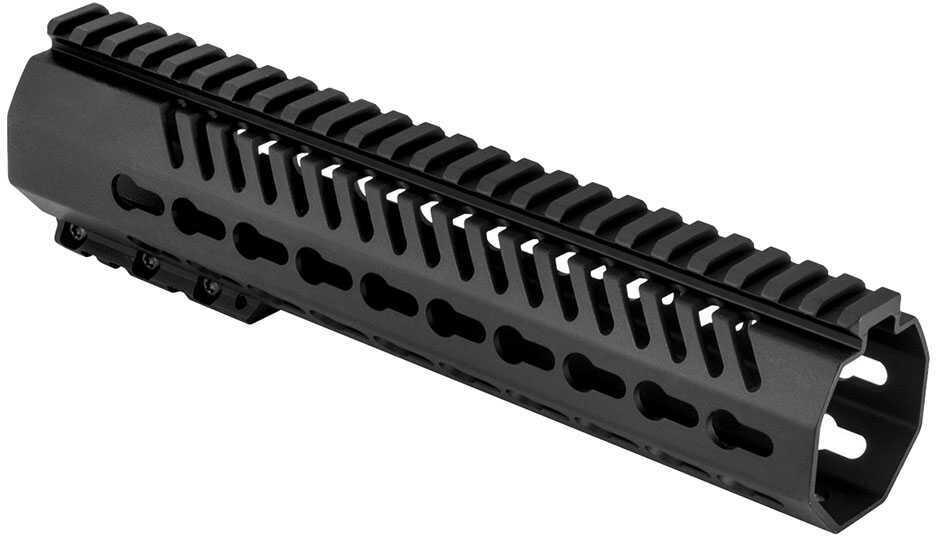 "Mission First Tactical Tekko Metal AR15 Free Floating Rail System 10"" Carbon, KeyMod, Black"