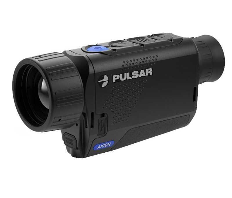 Pulsar Pl77422 Axion XM38 Thermal Monocular 5.5-22X 32mm 5.8 degrees X 10.1 degrees FOV