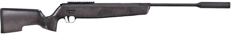 Sig Sauer Airguns AIRASP20 Asp20 Air Rifle With Suppressor Break Open .177 Pellet Black Beech Wood
