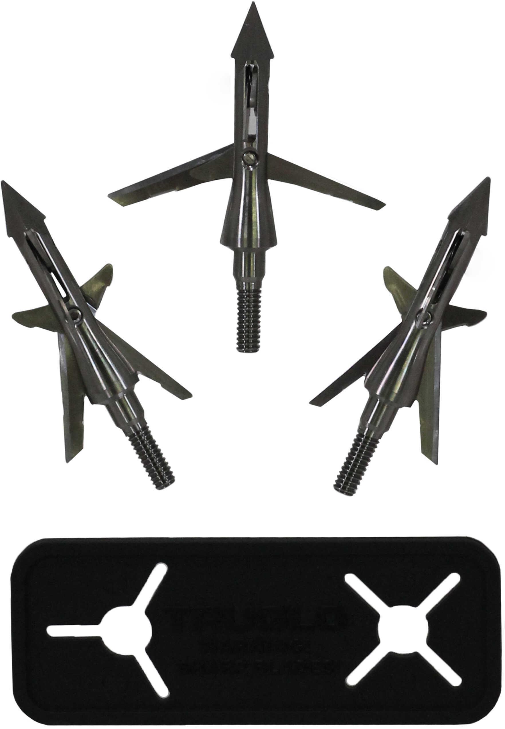 Truglo BROADHEAD MECH XB Titanium X 4 Blade 100Gr