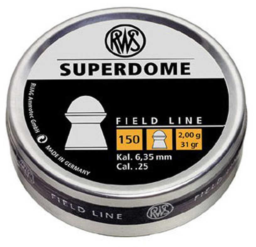 Umarex RWS SUPERDOME Pellets 25Cal Field Line