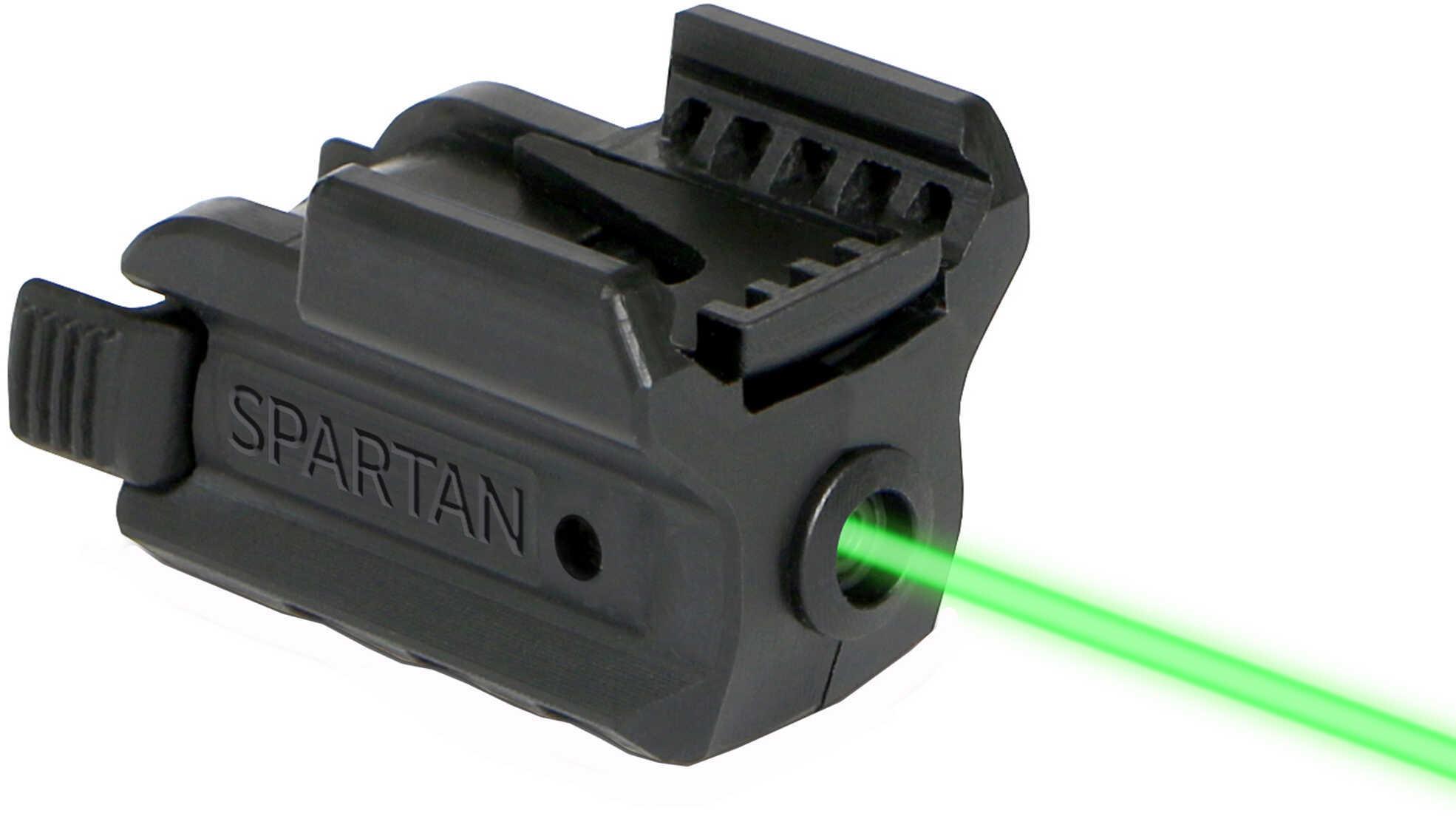 LM Spartan Rail Mount Laser Green